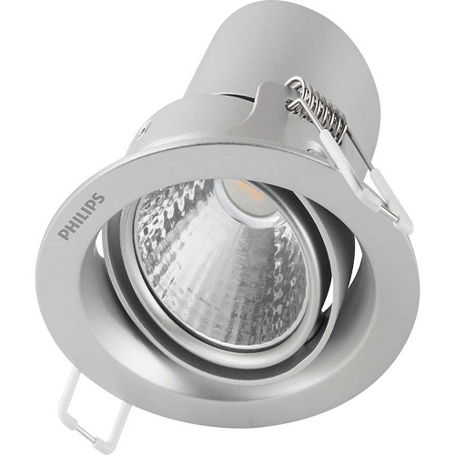 Đèn spotlight chiếu điểm 59774 POMERON 070 3W 27K SI (Màu bạc) - 915005445301