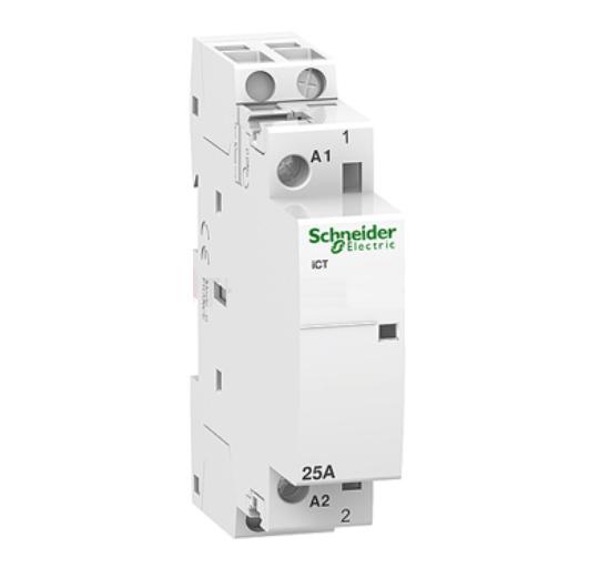 Contactor iCT 1P, coil voltage 230/240VAC, 25A 1NO - A9C20731