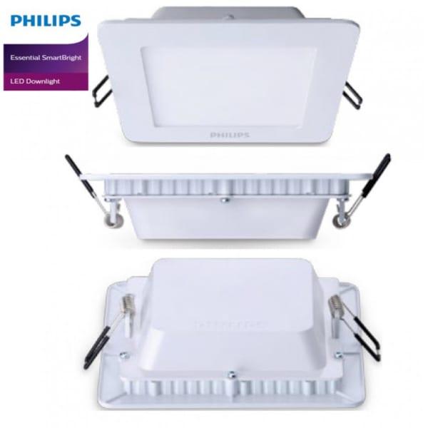 Đèn LED âm trần Philips 59514 Slimlit 120 SQ - 12W - 65K W recessed - 915005187401