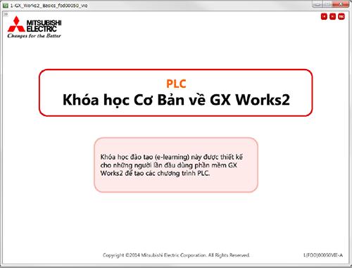 Hướng dẫn sử dụng phần mềm lập trình PLC Mitsubishi GX Work 2 cơ bản