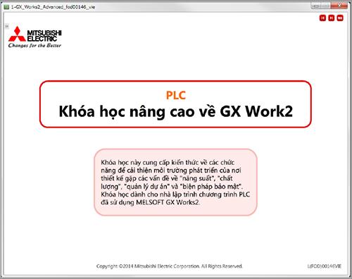 Hướng dẫn sử dụng phần mềm lập trình PLC Mitsubishi GX Work 2 nâng cao
