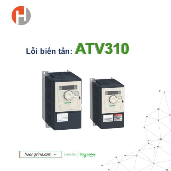 Sửa chữa biến tần Schneider ATV310