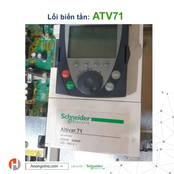 Sửa chữa biến tần Schneider ATV71
