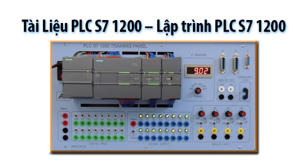 Tài Liệu PLC S7 1200 - Lập trình PLC S7 1200