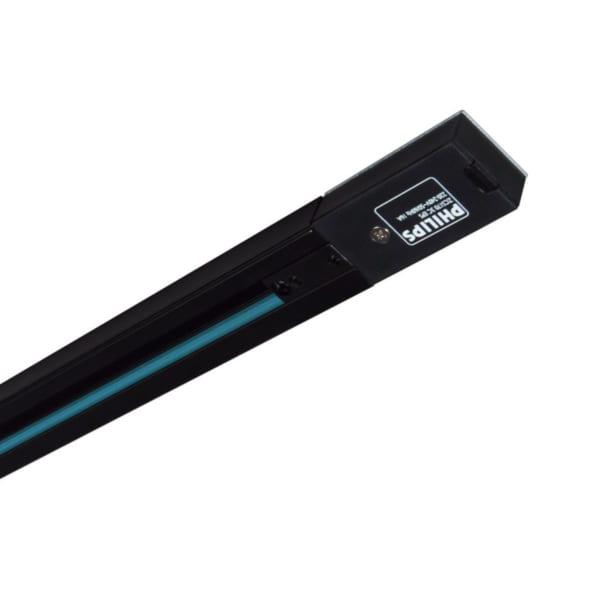 Thanh track lắp đèn chiếu điểm RCS170 1C L1000 BK, màu đen - 911400893780