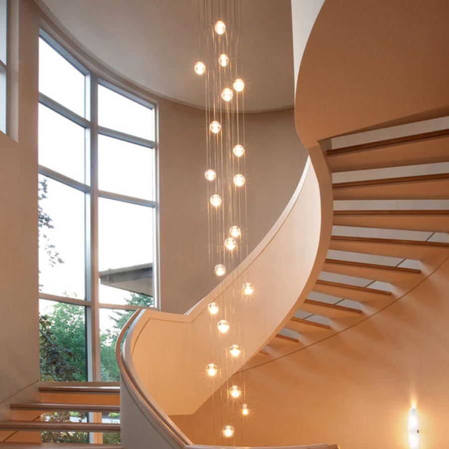cách chọn đèn cầu thang chuẩn nhất