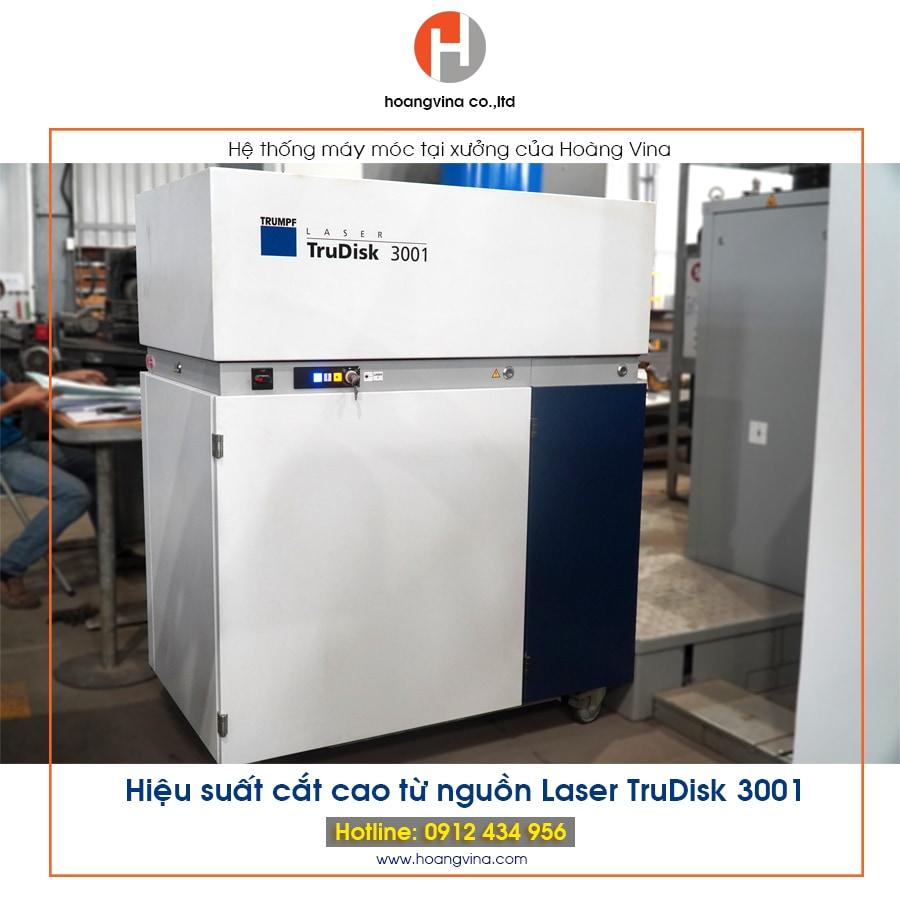 Máy cắt Laser Trudisk 3001 tại Hoàng Vina