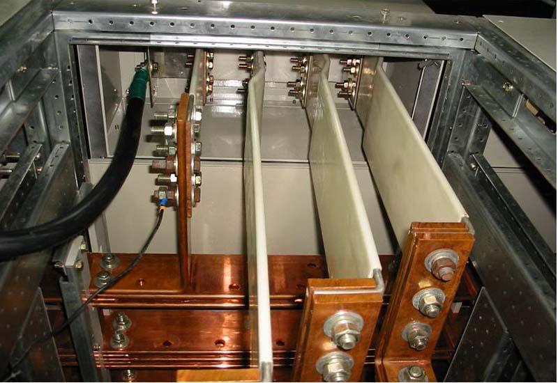 Thanh cái đồng trong tủ điện có chức năng kết nối các thanh cái khác và nối với dây đẫn