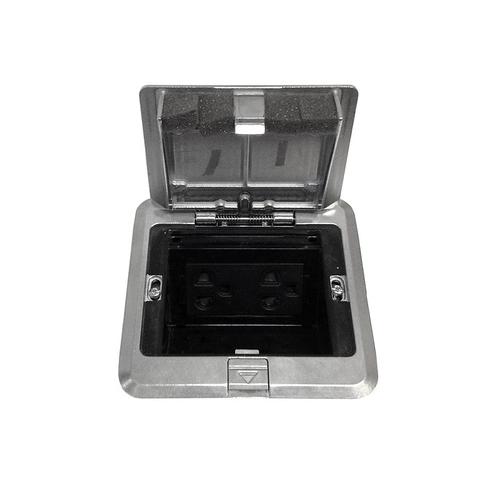 Ổ cắm âm sàn 3 thiết bị, đế âm - DUF1200LTK-1