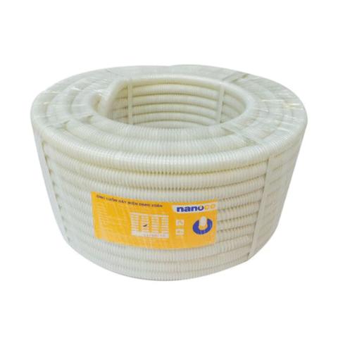 Ống luồn dây mềm phi 25 màu trắng, dài 40m - FRG25WS