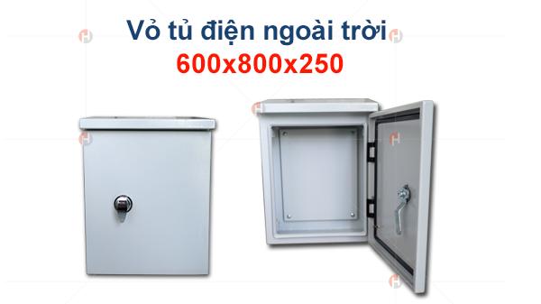 Vỏ tủ điện ngoài trời 600x800x250