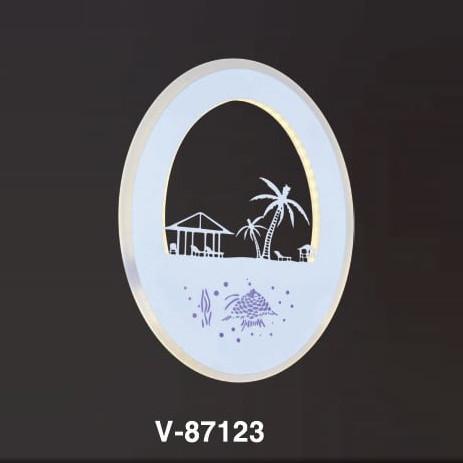 HPL Đèn vách V-87123, L210xH260 LED