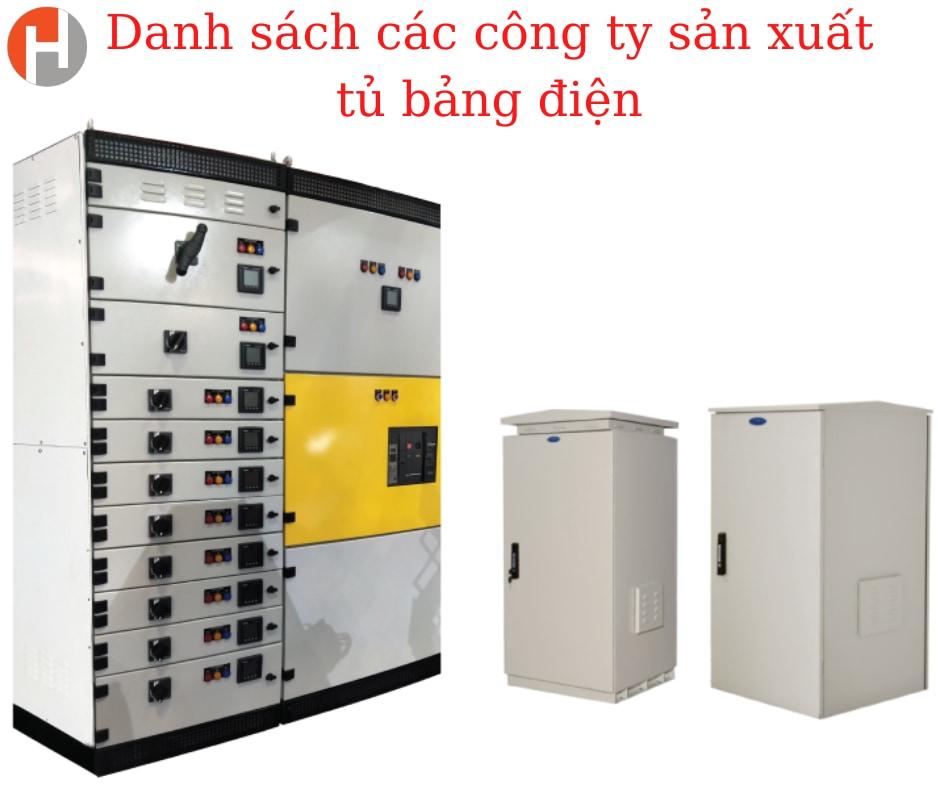 Danh sách các công ty sản xuất tủ bảng điện